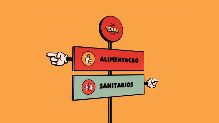 Signs cartoons - Lost City - cartoon - telescarlos | ello