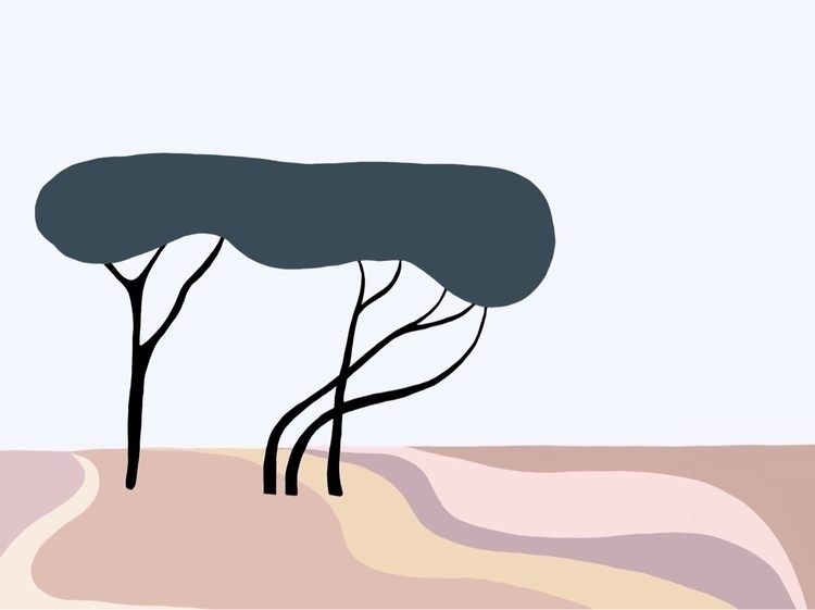 grove - illustration, art, design - jyxchen   ello