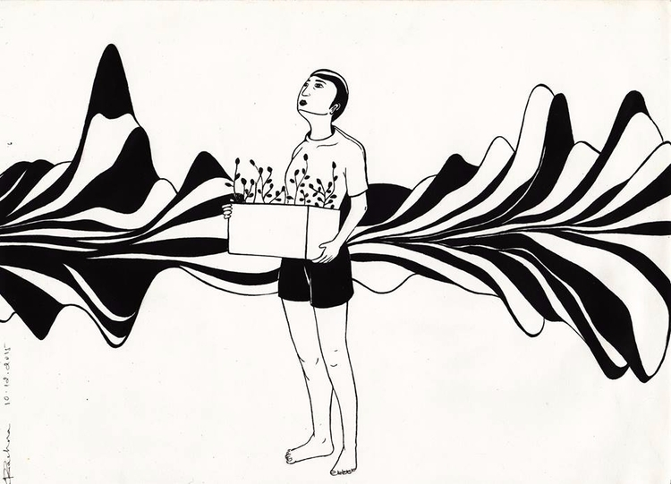 untitled - drawing, illustration - rachnaravi | ello