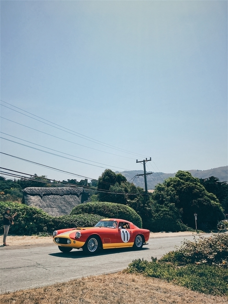 1959 Ferrari 250 GT LWB Scaglie - tramod | ello