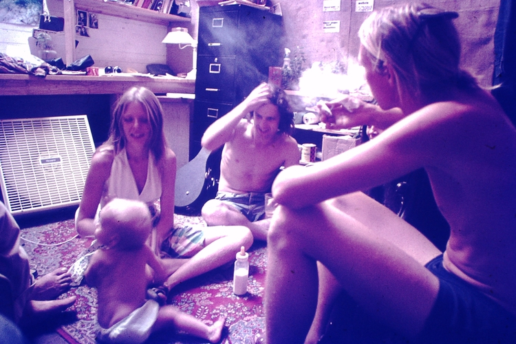 Photo - Hippies, 1976 - foundphoto - marksusina | ello