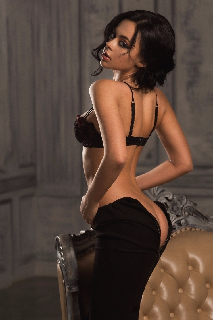 ass, dress, brunette, nsfw - guermo | ello