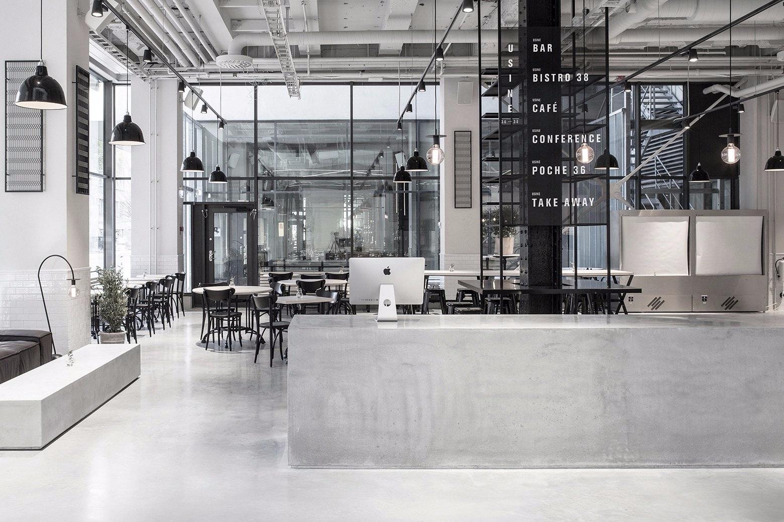 Usine Restaurant Richard Lindva - minimalissimo | ello