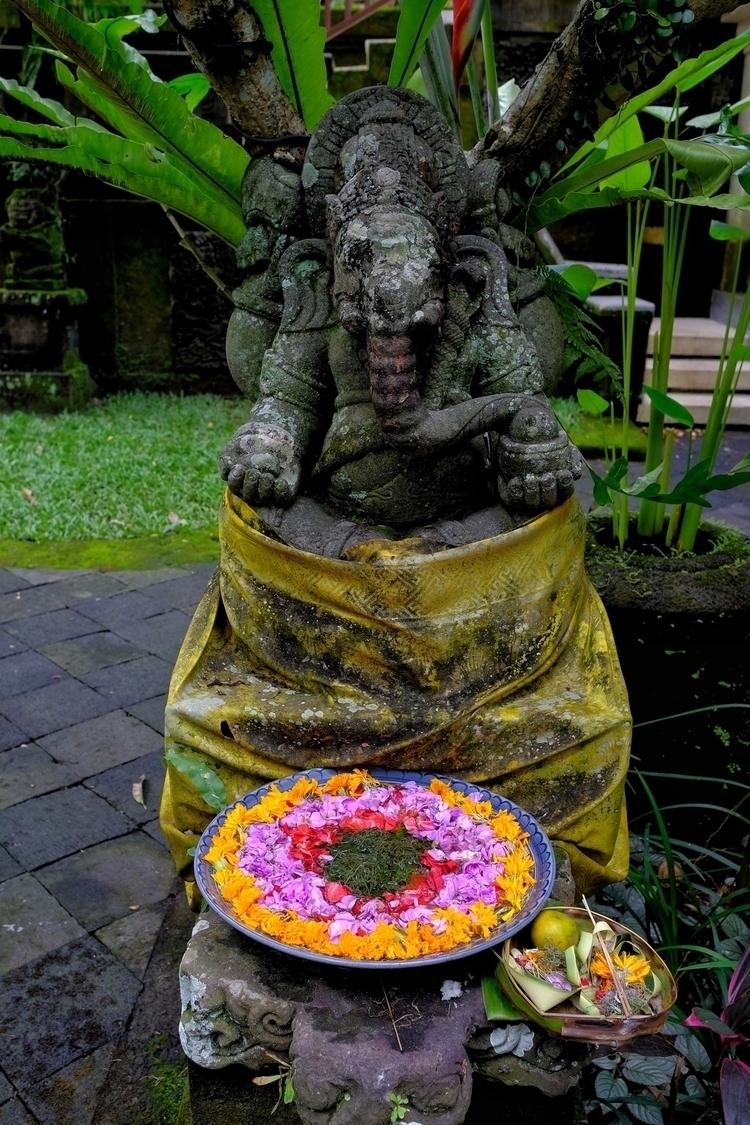 Hinduistische Götterstatue mit  - weltfarben | ello