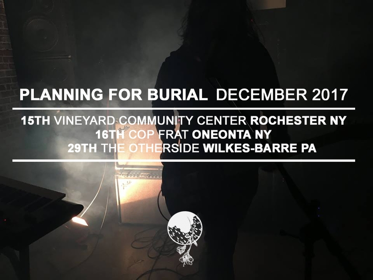 Starting Friday playing shows c - planningforburial | ello