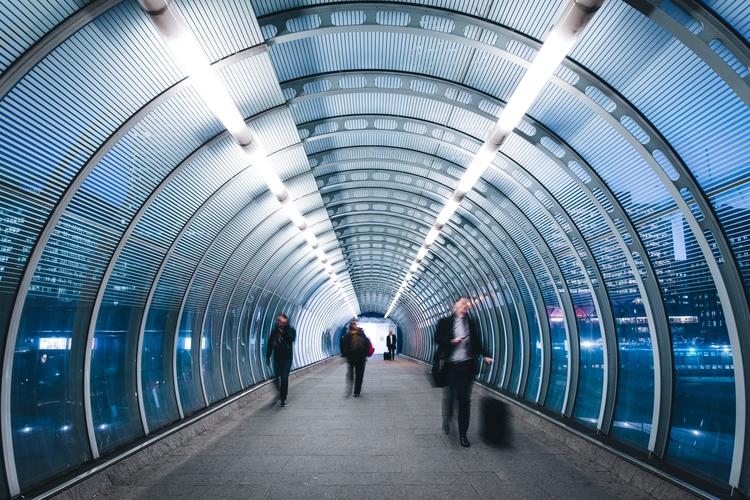 Poplar DLR - travel, architecture - domreess | ello