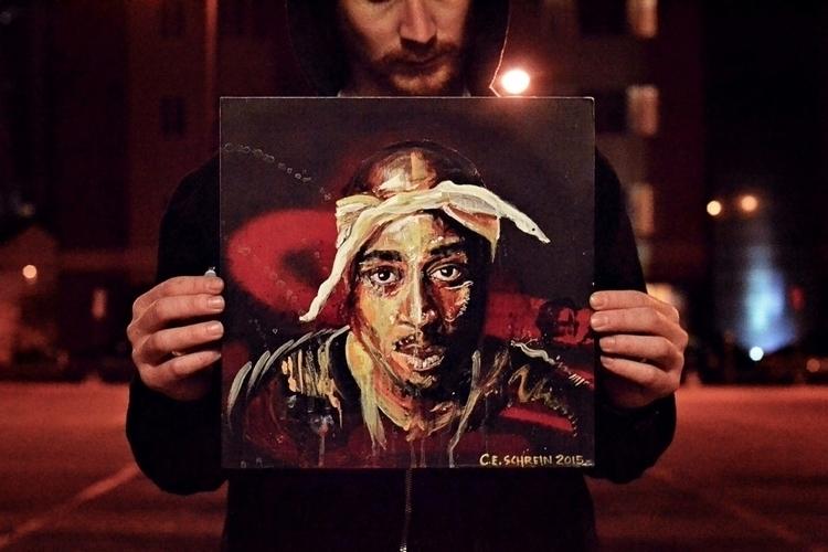 Etsy threw original Tupac paint - schreince | ello