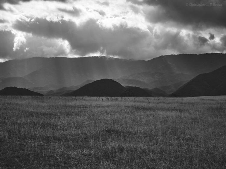valley. WebSite - monochrome, Landscapes - tychobrown | ello
