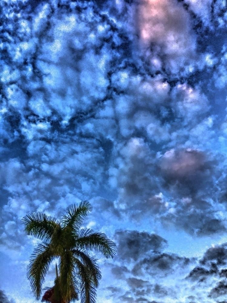 Cloudy Sky Dusk Apps - mikefl99 - mikefl99 | ello