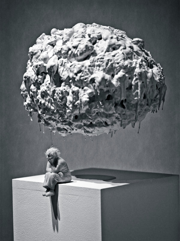 Dark Cloud exhibit Albright Kno - neurodancer | ello