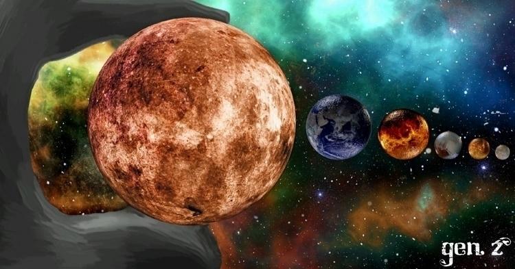 God Cosmos. Link Shop - cosmos, universe - gen_z | ello