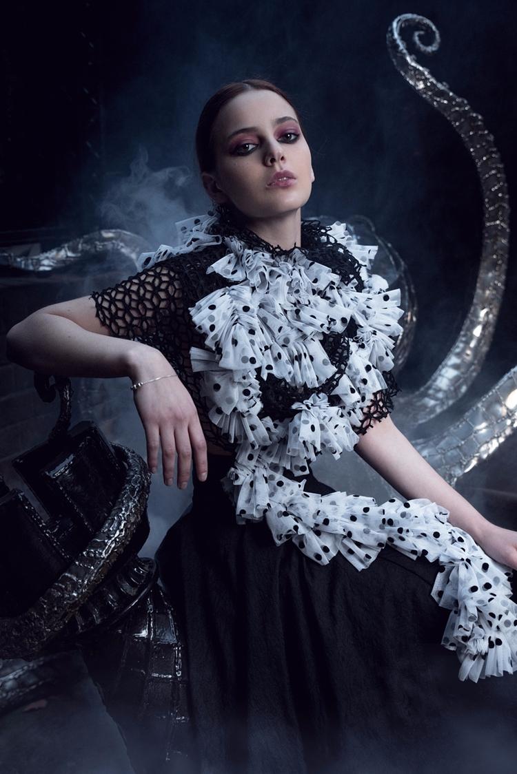 Photographer: Conrad Lee Design - darkbeautymag   ello