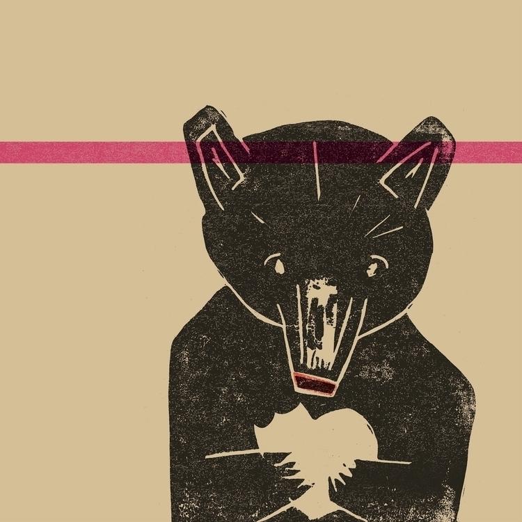bear, illustration - donnygallagher | ello