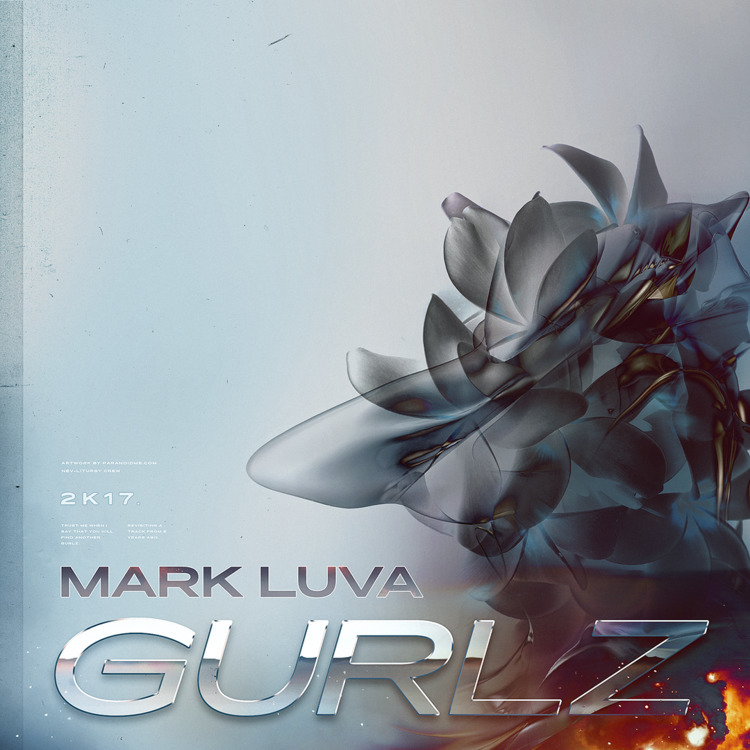Cover artwork Mark Luva - Gurlz - paranoidme | ello