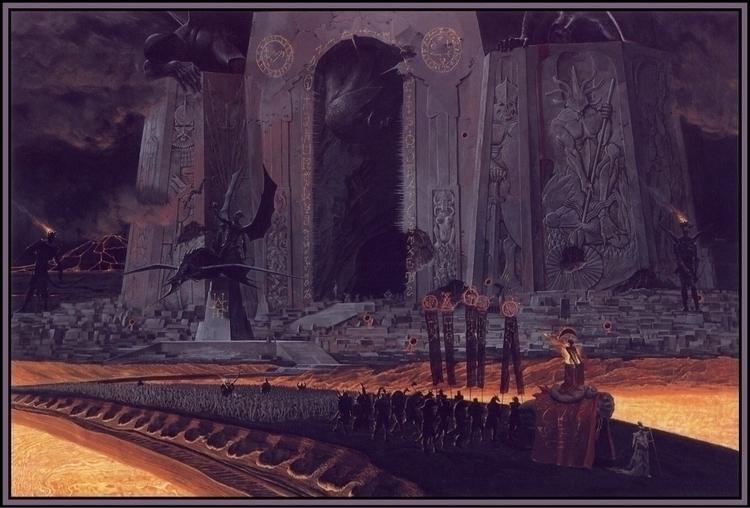 'Wargate' Wayne Barlowe Inferno - mrandrewhawkins | ello