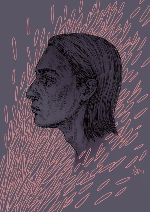 boy digital illustration - art - dariagolab | ello