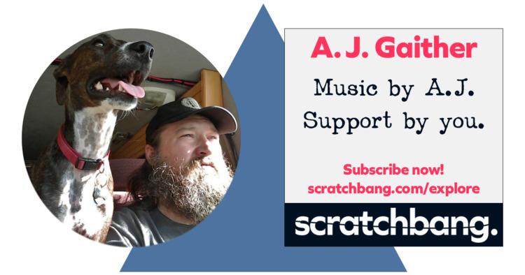ScratchBang AJ Gaither — Man Ba - scratchbang   ello