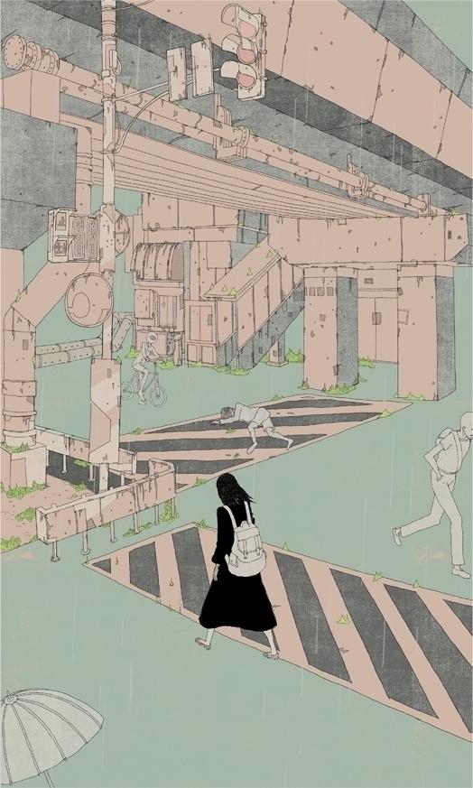Coka Kotaro Chiba 2017 - illustration - kotaro_chiba | ello