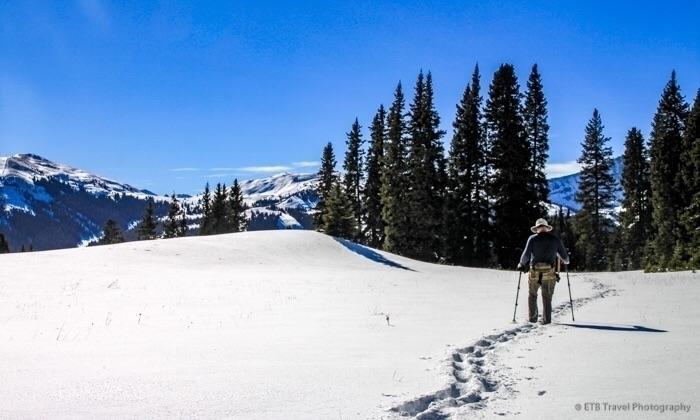 breakingtrail, view, winter, summit - etbtravelphotography | ello