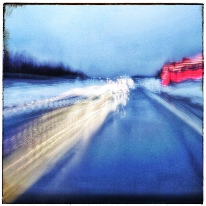 Finland. Driving Slowshutterpho - ollipekka   ello