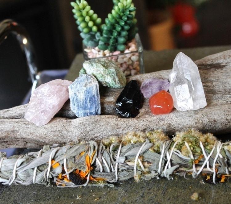 Sage bundle crystal kits shop!  - mermaidtearshawaii | ello