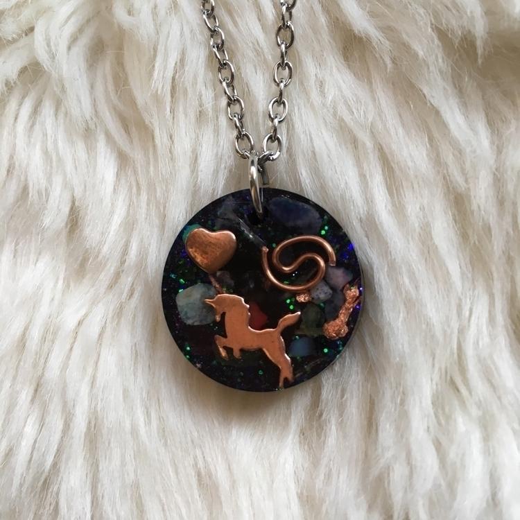 Unicorn Orgone Pendants Etsy sh - thefaeriegodmother | ello