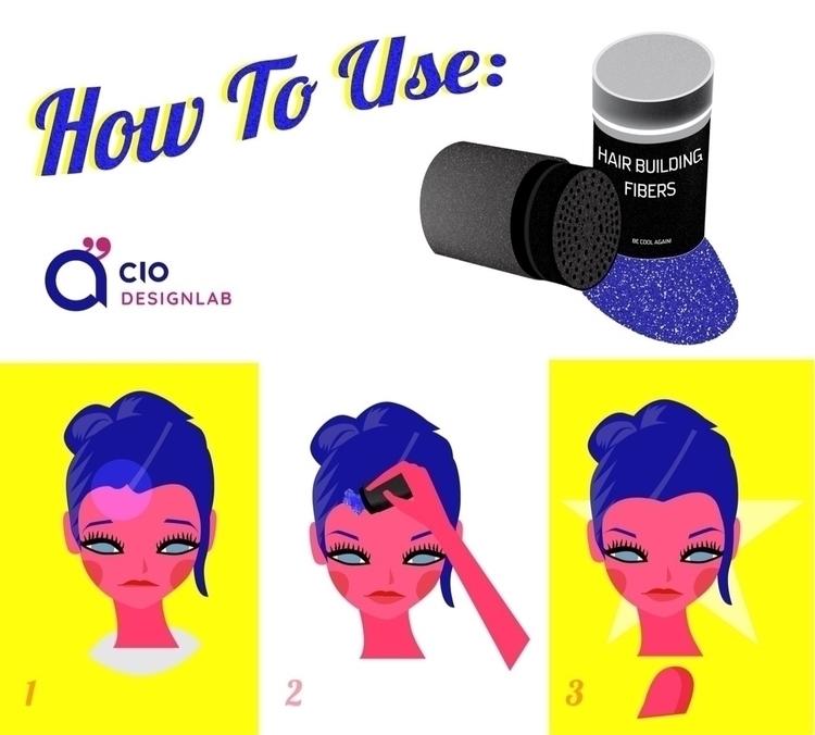 instructions: Hair Building Fib - ciodesign | ello