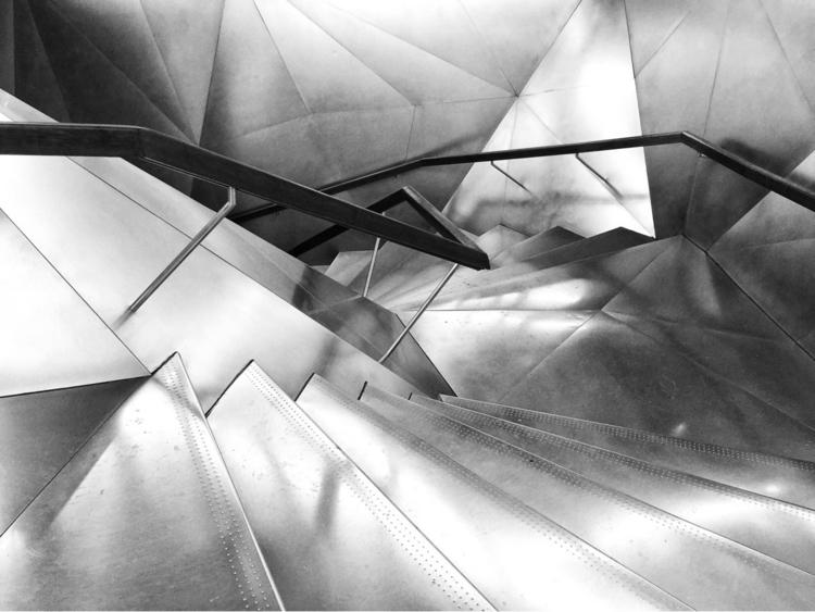 Stairs - stairs, caixaforum, Madrid - dbault | ello