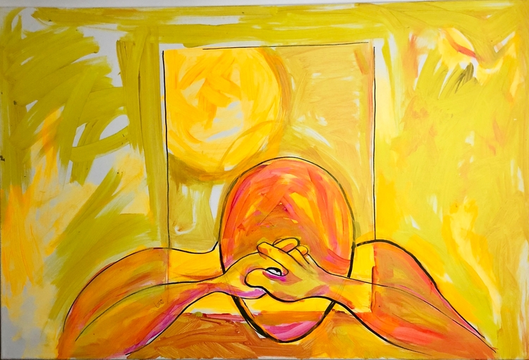 yellowish paintings complete ti - thiessbaugh | ello