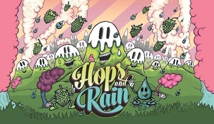 Hops Rain Sour Beer Rock Leopar - lewylewy | ello