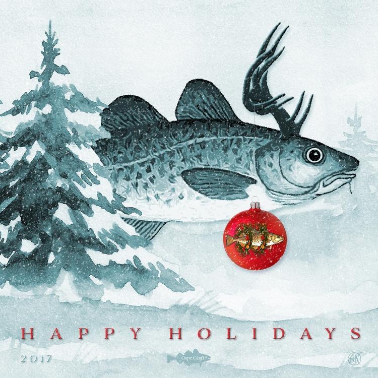 Happy Holidays Cape Card:regist - capecard | ello