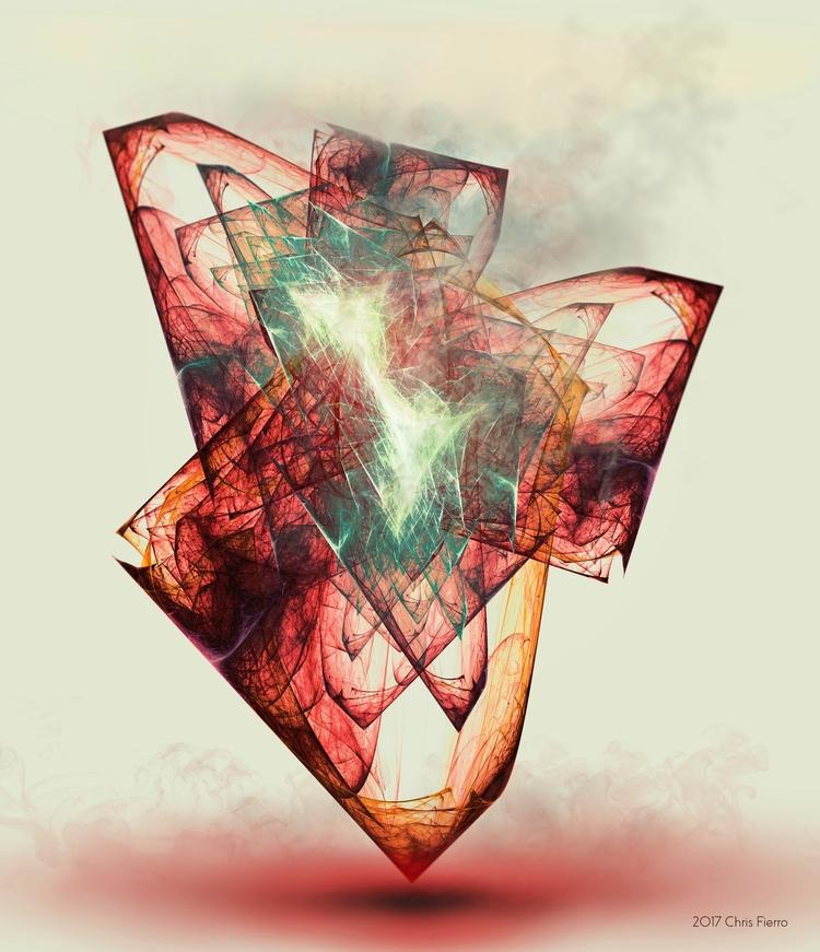 Aethereum / digital abstract ar - chrisfierro | ello