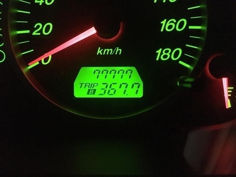 ODO77777km - 77777, ODOMeter - cazenomori | ello