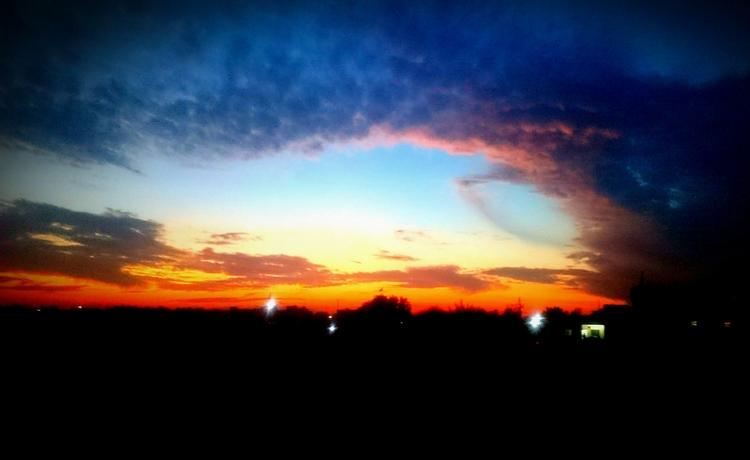 India, Sunset - atulbw   ello