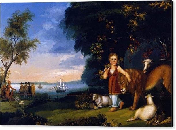 Peaceable Kingdom 1825 Canvas P - pixbreak | ello