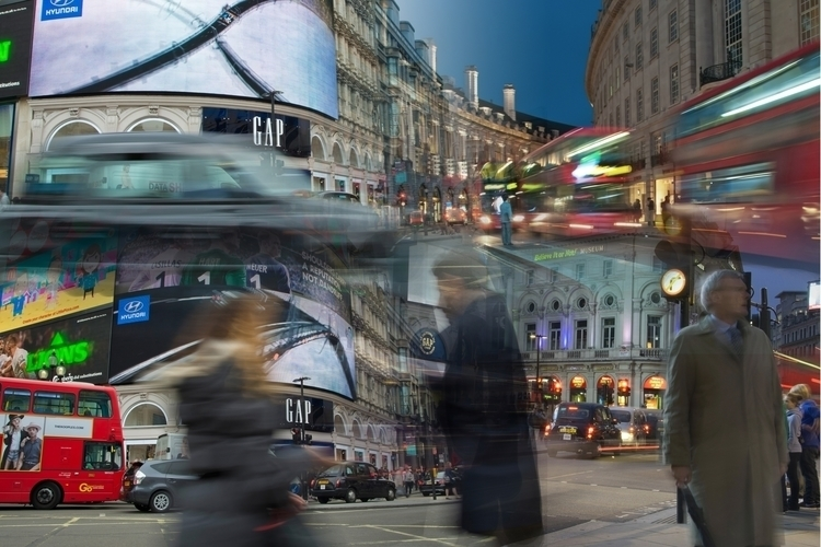 London Life - multipleexposure, original - simplycomplicatedphotography | ello