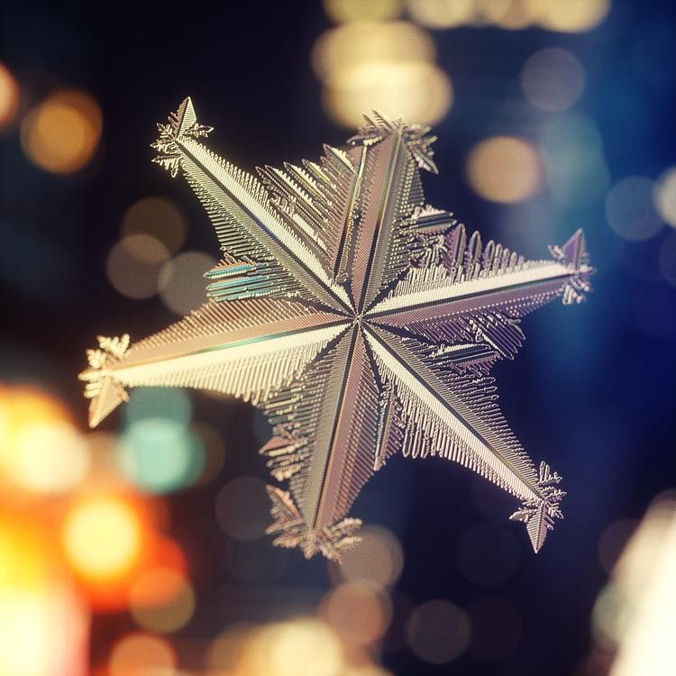 houdini - snow, snowflake, winter - dimashishkov | ello