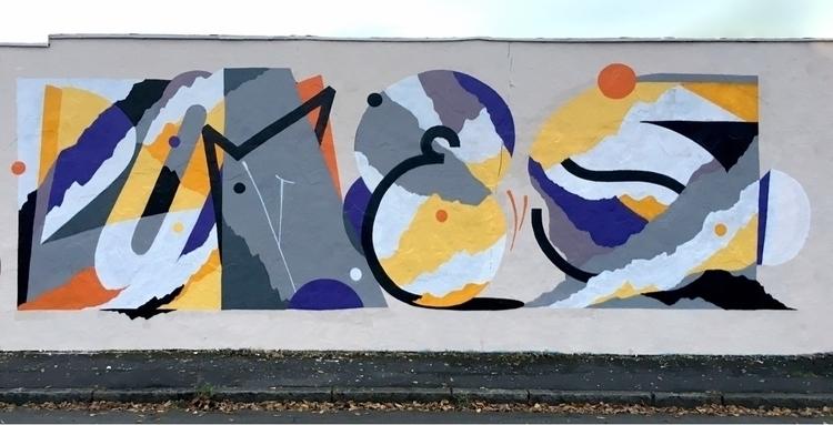 pomes — dortmund, 2017 - graffiti - pomesone   ello