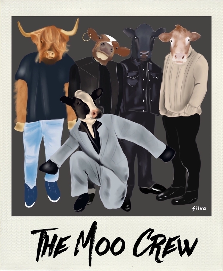 Meet favourite band ... Moo Cre - nightrav3n | ello
