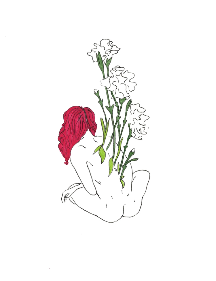 Stretch - art, flowers, design, minimalist - alexsappy | ello
