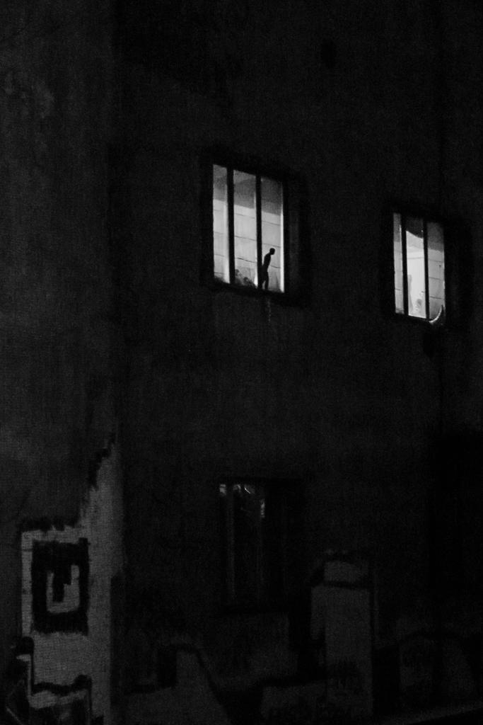 Darkness friend - winter, nightlight - flommeunier | ello