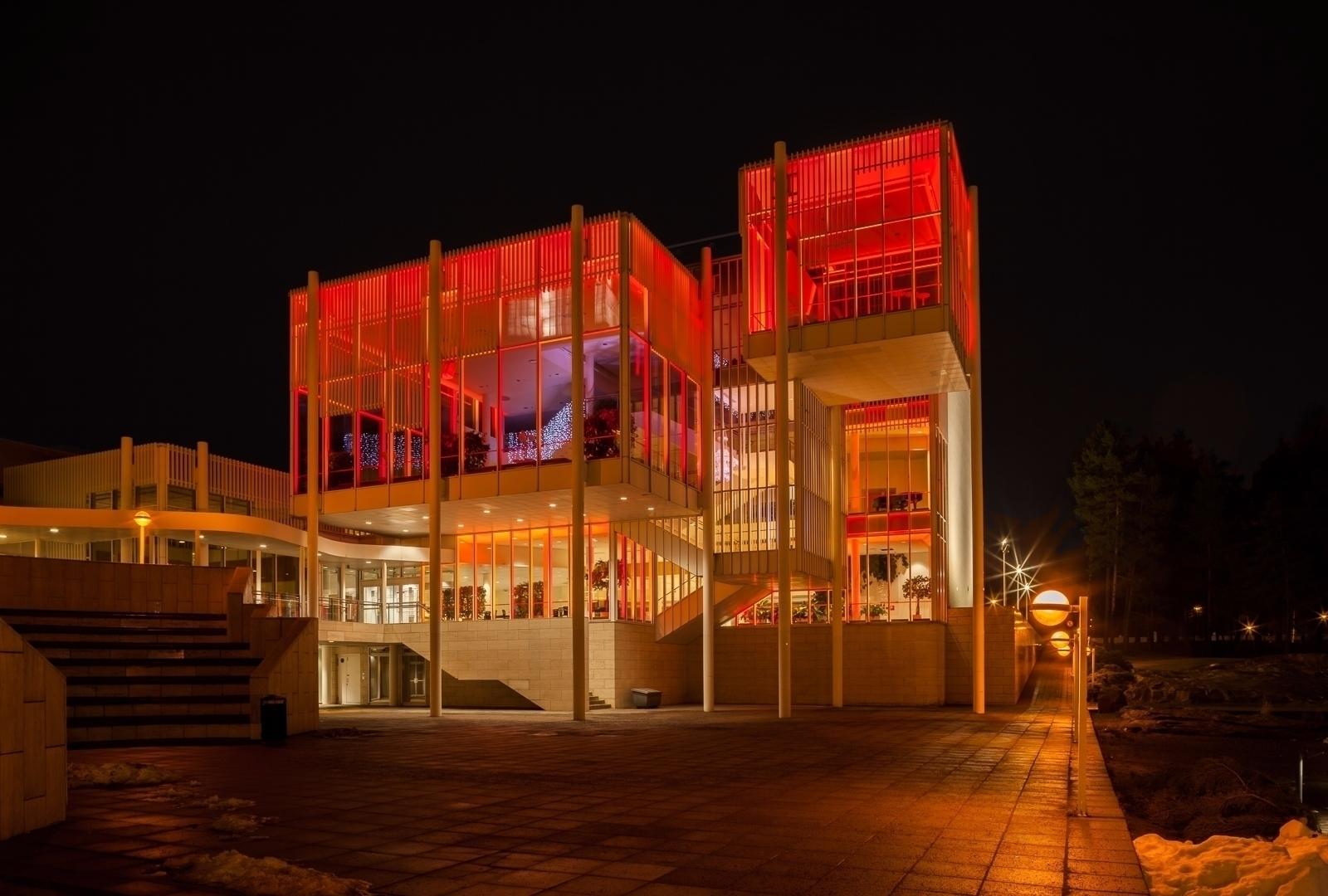 Culture Center pink - photography - anttitassberg | ello
