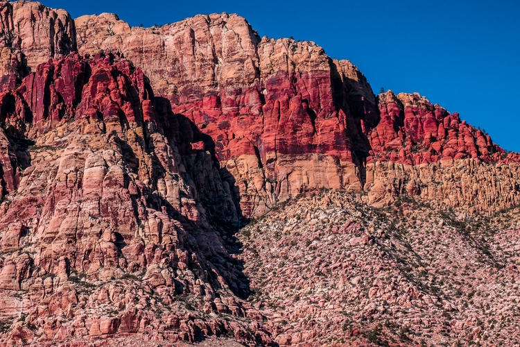 Red Band Detail layers rock geo - mattgharvey | ello