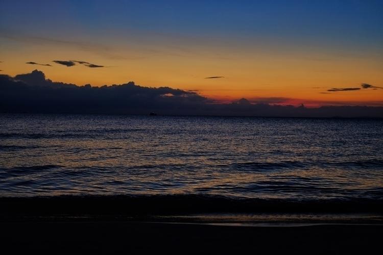 Sonnenunrergang Meer - weltfarben | ello