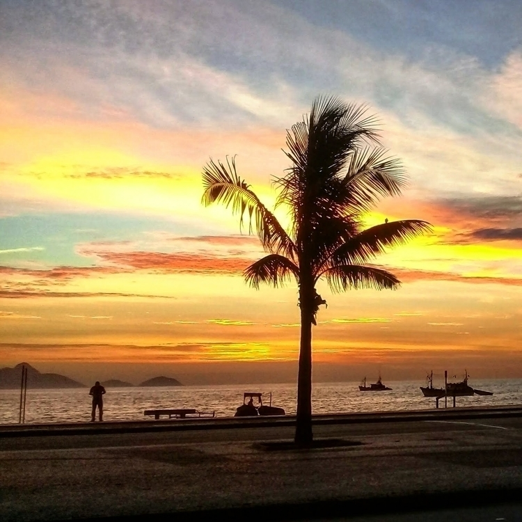 Goodbye, 2017!:wave - copacabana - samillef   ello