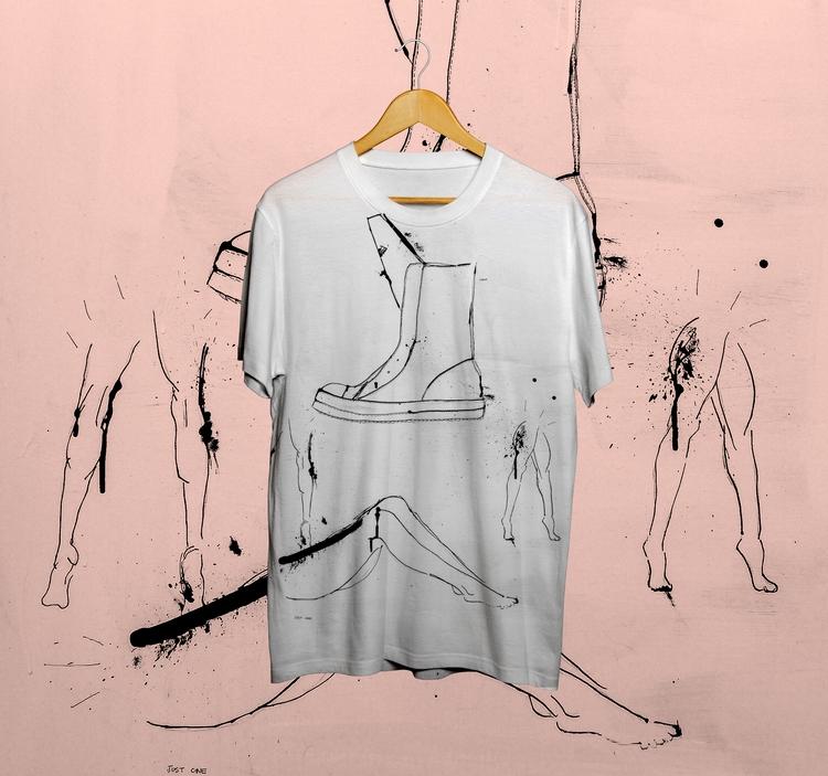 Boot-Leg tshirt designed based  - janvanpersie | ello