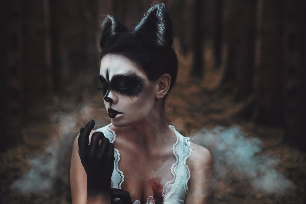 "Animals Left Woods..."" — Photog - darkbeautymag   ello"