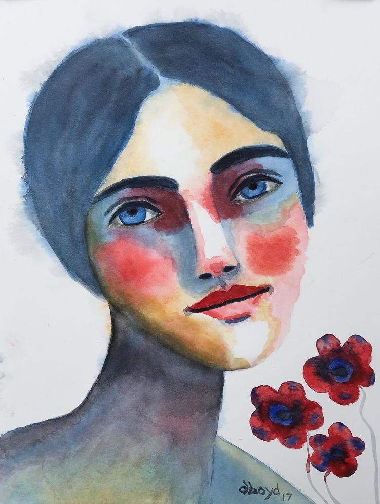 started painting 2017 pushing y - dboyd | ello