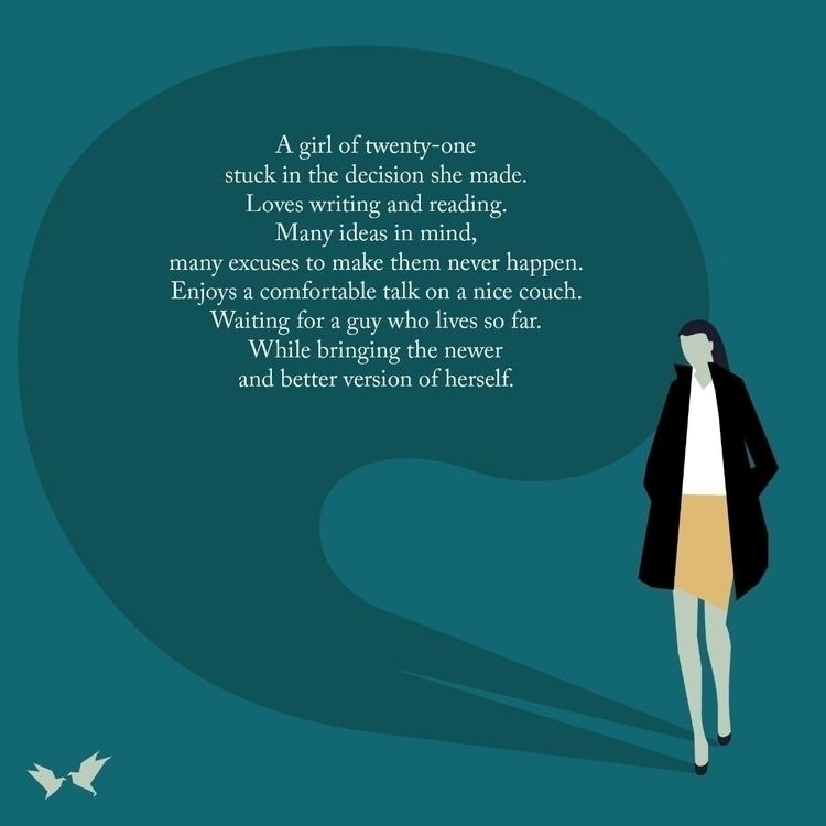 Girl - poetry, mood, writing, writer - kurtaspaharo | ello