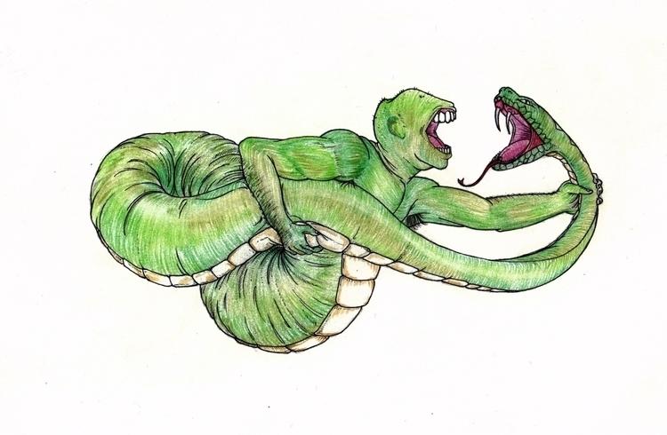 Argue - illustration, handdrawn - thirdeyecreative | ello